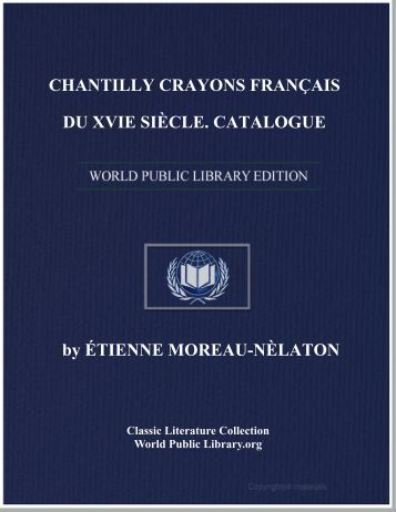chantilly crayons français du xvie siècle - World eBook Library
