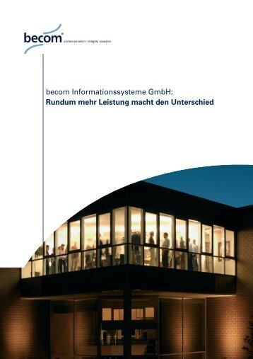 Imagebroschüre - topcom Werbeagentur in Düsseldorf