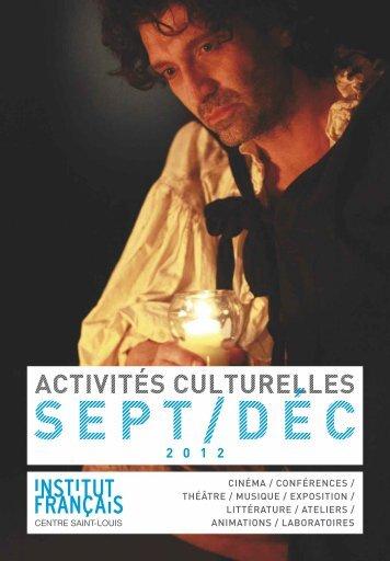 cinéma - Centre culturel Saint-Louis de France