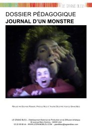 Journal d'un monstre - Le Grand Bleu