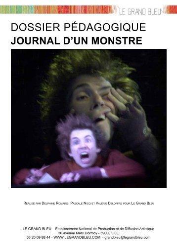 Journal d'un monstre - Le Grand Bleu