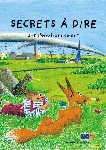 Secrets à dire sur l'environnement