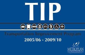 MetroPlan Orlando Transportation Improvement Program