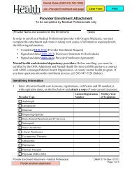 Adult Foster Home License Inspection Checklist - Oregon DHS