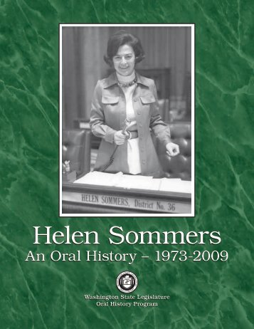 Helen Sommers: An Oral History