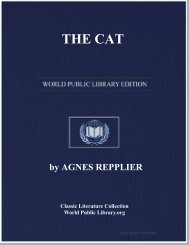 the cat - World eBook Library