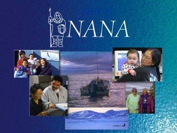 Northwest Alaska Native Association (NANA) Regional ... - EERE