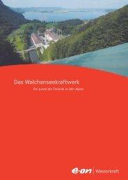 Das Walchenseekraftwerk - E.ON - Strom und Gas - Info-Service