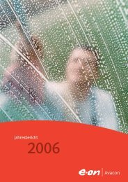 Jahresbericht - E.ON - Strom und Gas - Info-Service - E.ON AG