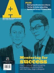 Mentoring for - Hong Kong Institute of Certified Public Accountants