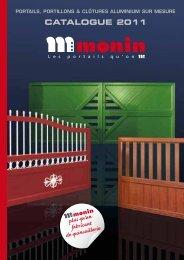 Le portail coulissant - Monin