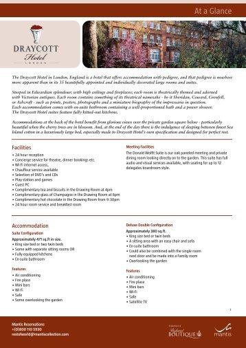 Draycott fact sheet layout 1 - Shamwari Game Reserve