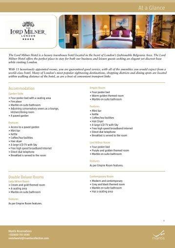 Lord Milner fact sheet layout 1 - Shamwari Game Reserve