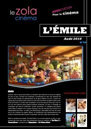 Août - Cinéma Le Zola