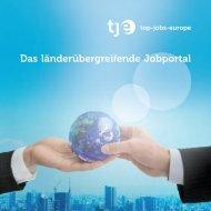Das länderübergreifende Jobportal - Top-Jobs-Europe.de