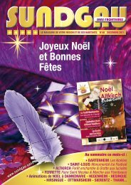 Magazine SSF N°48 Décembre 2011 - Sundgau Sans Frontières