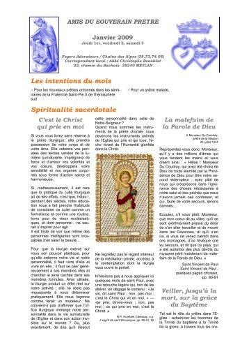 ASP Janvier 2009 - La Porte Latine