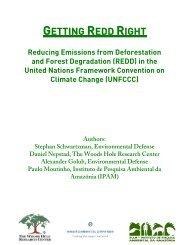 GETTING REDD RIGHT - Environmental Defense Fund