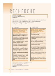 RESUMÉ ABSTRACT - Banque de données en santé publique