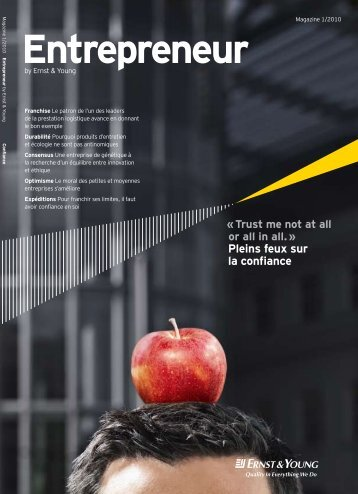 Entrepreneur by Ernst & Young – Magazine 1/2010