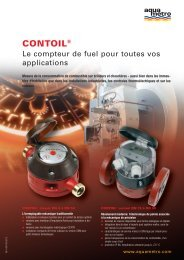 CONTOIL® - Aquametro AG