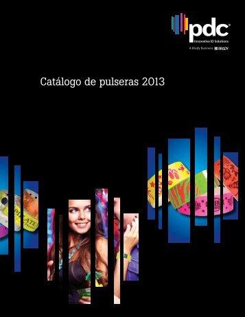 Catálogo de pulseras 2013