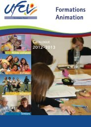 Catalogue de formations - UFCV