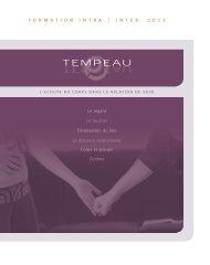 L'intime Le toucher Le regard L'érotisation du lien Corps ... - Tempeau