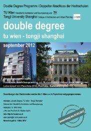 zur Bewerbung - Fakultät für Architektur und Raumplanung ...