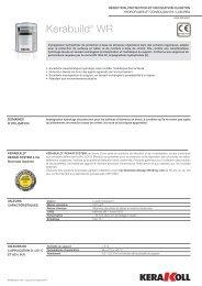 Kerabuild® WR - products.kerakoll... - Kerakoll S.p.A.