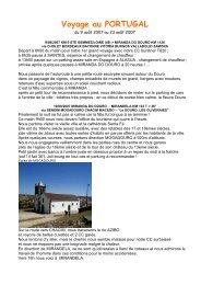 Voyage au PORTUGAL+ag01 - Camping Car en Liberté