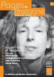 sommaire - Livre et lecture en Bretagne