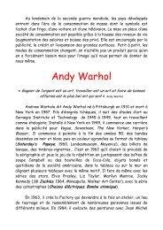 Bouteilles de coca cola vertes d'Andy Warhol