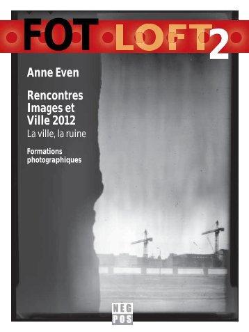 Anne Even Rencontres Images et Ville 2012 - Marcus Kaiser