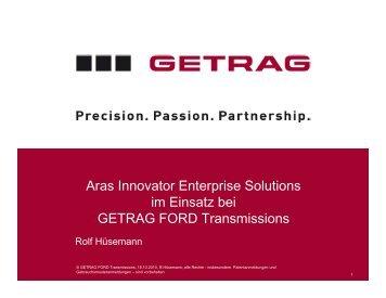 Getrag Ford Transmissions