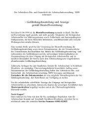 Gefährdungsbeurteilung und Anzeige gemäß Biostoffverordnung