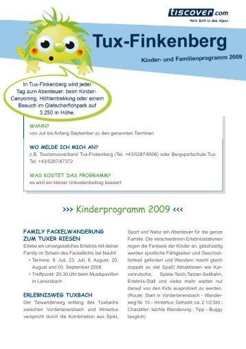 Kinderprogramm 2009