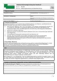 GBU-BioStV - Arbeits- und Gesundheitsschutz in Schulen