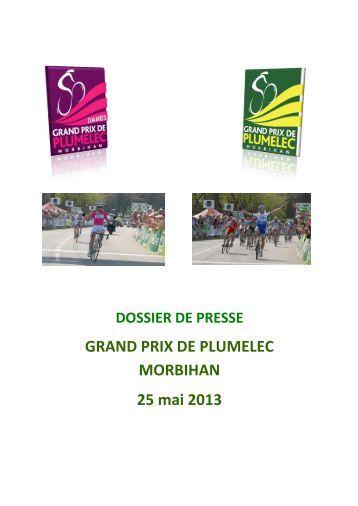 dossier de presse - Grand Prix de Plumelec