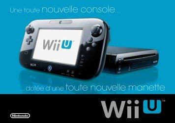 La brochure Wii U - Nintendo of Europe
