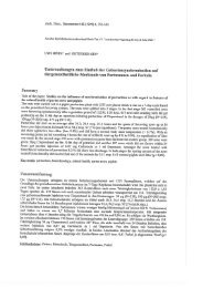 Studies on the influence of synchronization of parturition as with ...