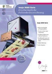 Die programmierbaren Thermo- drucker der Imaje 5000 Serie ...