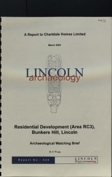 Residential Development (Area RC3) - Archaeology Data Service