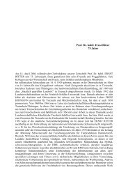 Prof. Dr. Ernst Ritter 75 years [in German]