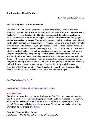 Recording studio design third edition pdf ebooks free download site planning third edition pdf ebooks free download fandeluxe Choice Image