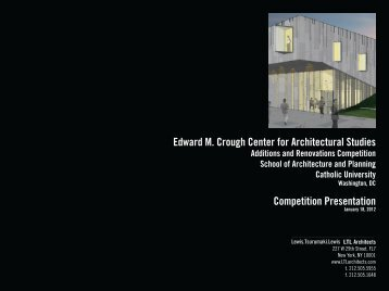 LTL Architects - School of Architecture and Planning