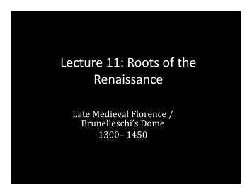 Lecture 11 - School of Architecture and Planning