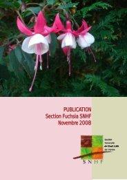 Novembre 2008 - Société Nationale d'Horticulture de France