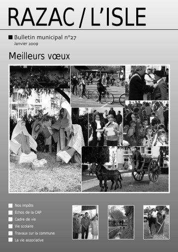 Janvier 2009 - Réseau des Communes