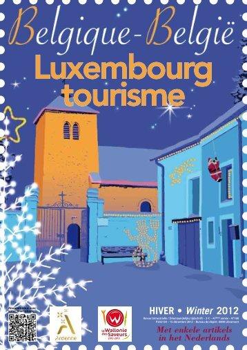 Inhoud - Fédération touristique du Luxembourg belge